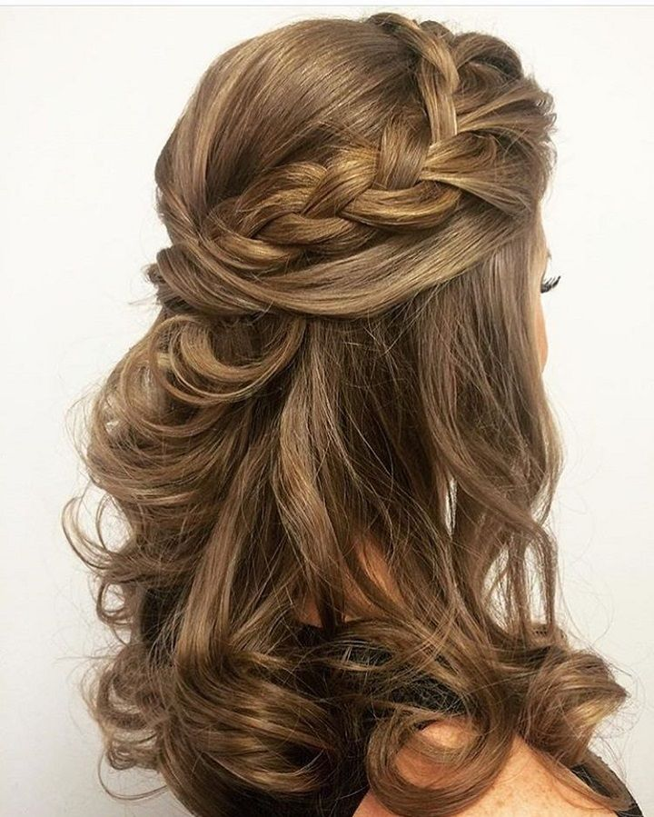 Wedding Hairstyles Half Up Half Down Best 25 Half Up Half Down